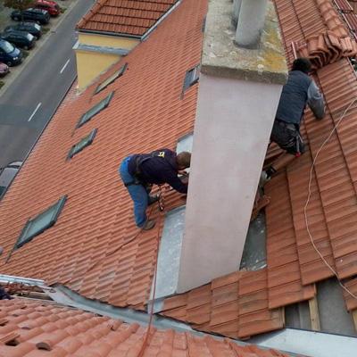 Opravy, rekonstrukce střech